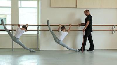 Die Tanzschüler der Pariser Oper