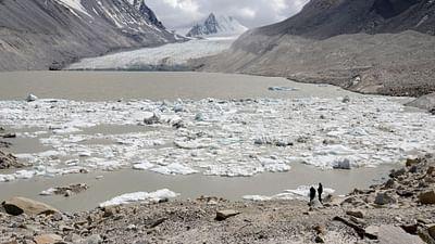 Der große Fluss vom Himalaya