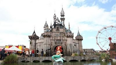One day in Dismaland