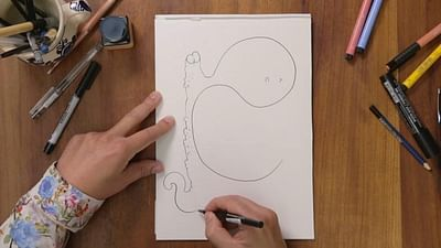 Tebo, zeichne mir Néon!