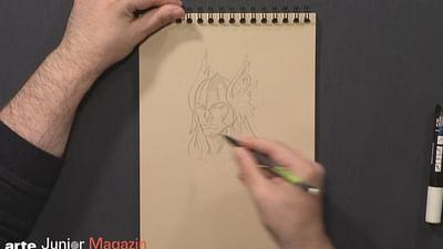 Zeichenstunde: Paul Renaud, zeichne uns Thor!