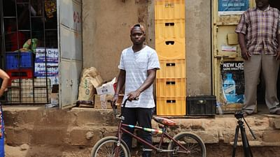 Africa Riding: Ibrahim, Uganda