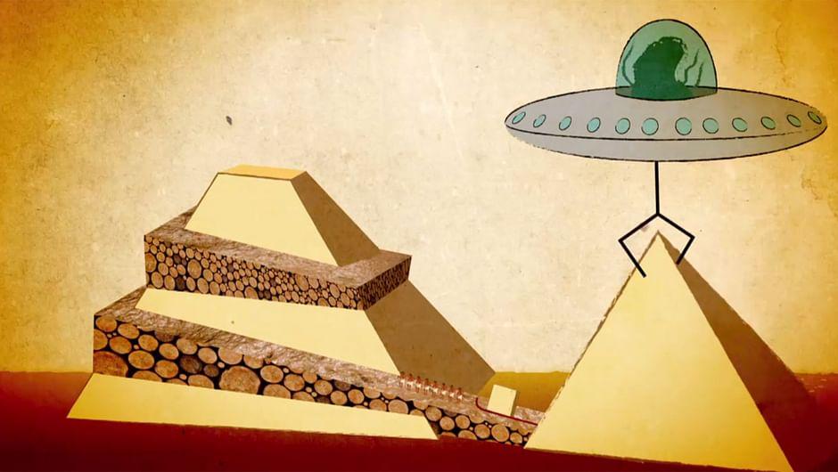 Wie Wurden Die Pyramiden Erbaut