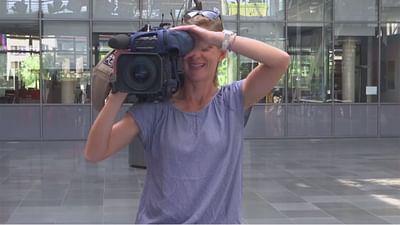 So geht Fernsehen: Die Kamerafrau
