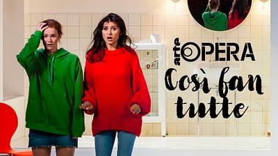 """""""Così fan tutte"""" aus der Oper Lausanne"""