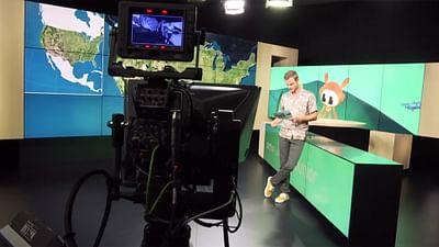 So geht Fernsehen: Der Moderator