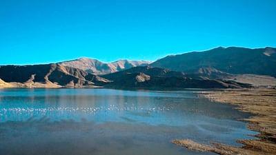 Auf der Qinghai-Tibet-Hochebene