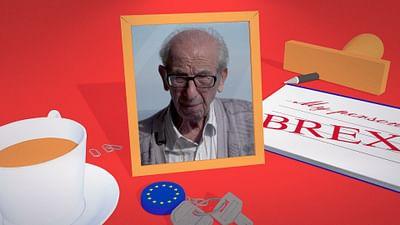 Harry, britischer Veteran in Italien