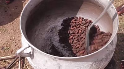 Wie aus Kakao Schokolade wird (3/5)