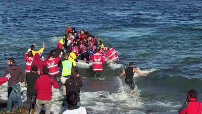 Europa wird von Flüchtlingen überflutet