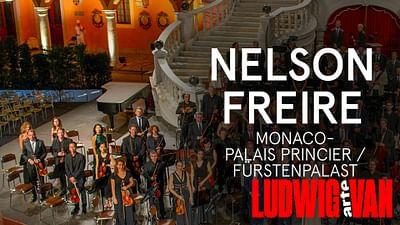 Nelson Freire im Fürstenpalast von Monaco