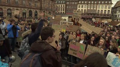 Straßburg: Schülerdemo für das Klima