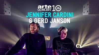 Jennifer Cardini B2B Gerd Janson in Paris x Berlin – 10 Jahre ARTE Concert
