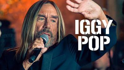 Iggy Pop Live in Paris