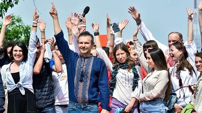 Ukraine: Nach dem Komiker, der Sänger