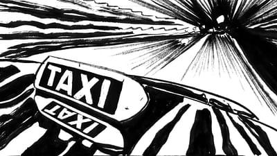 """Graphic Novel: """"Nacht im Paradies"""" von Frank Schmolke"""