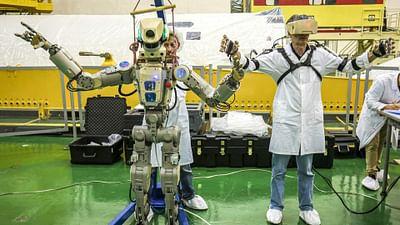 Roboter Fedor endlich auf der ISS
