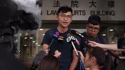 Hongkongs Studenten auf der Straße