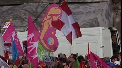Künstliche Befruchtung: Proteste in Paris