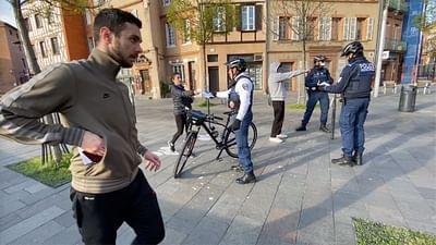 Corona Journal Toulouse: Unterwegs mit der Polizei