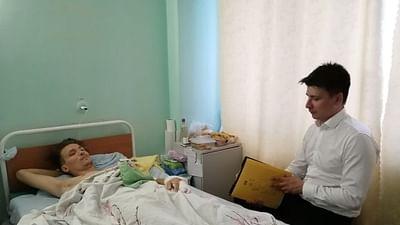 Belarus: Der Anwalt in der Notaufnahme