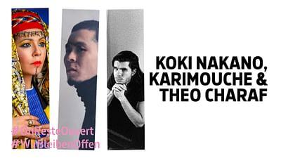 Théo Charaf, Koki Nakano und Karimouche bei den Musikalischen Höhenflügen