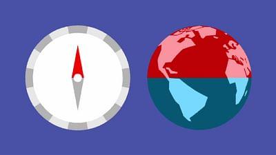 Wieso zeigt der Kompass immer nach Norden?