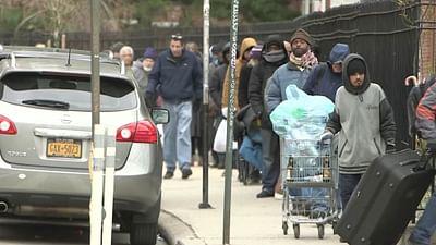 USA: Obdachlose, die Vergessenen der Corona-Pandemie