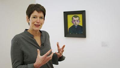 Allein im Museum: Gabriele Münter - Knabenkopf (Willi Blab)
