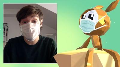 Maske tragen - aber richtig!
