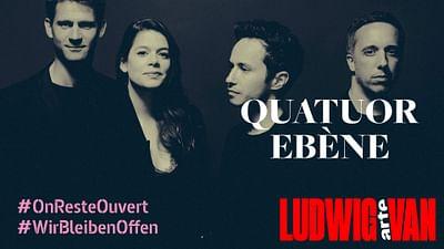 Quatuor Ebène spielt Beethovens Streichquartette