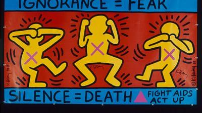 Keith Haring - Street Art Boy