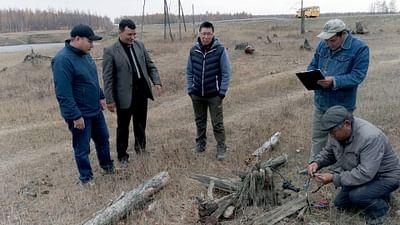 Re: Sibirien taut auf