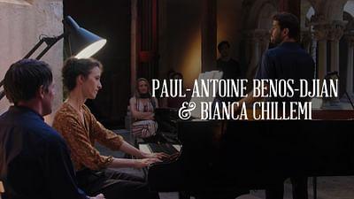 Paul-Antoine Benos-Djian und Bianca Chillemi
