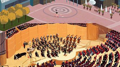 der Ort: die Kölner Philharmonie