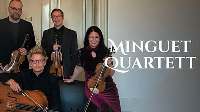 Das Minguet Quartett spielt Werke von Verdi, Beethoven u.a.