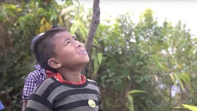 Kinderporträt: Pyniasoh aus Indien