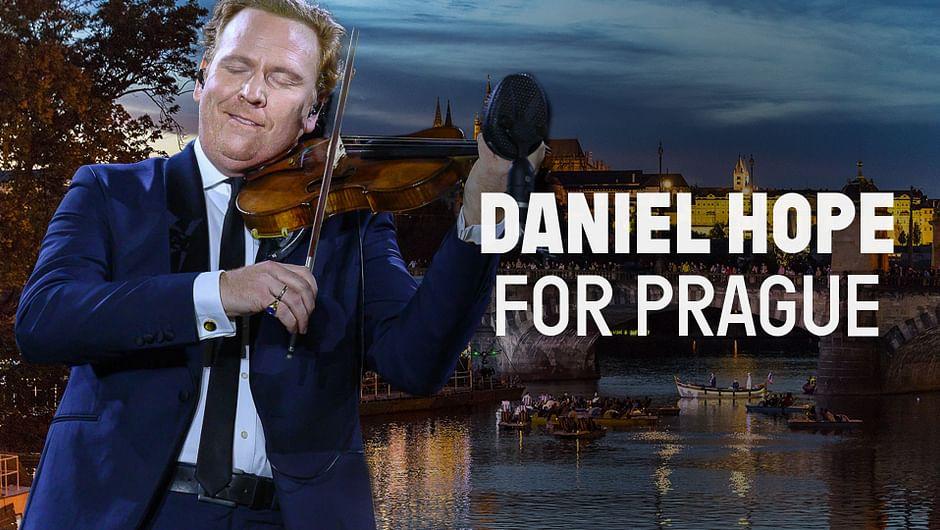 Daniel Hope in Prag
