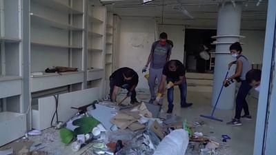 Beirut: Freiwillige Helfer ersetzen den Staat