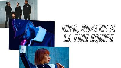 Suzane, La Fine Equipe und Niro beim Festival La Fête de l'Humanité