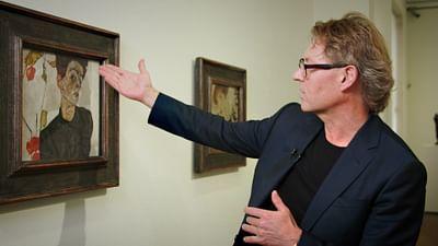 Allein im Museum: Egon Schiele – Selbstbildnis mit Lampionfrüchten