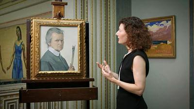 Allein im Museum: Ottilie W. Roederstein – Selbstbildnis mit Pinseln