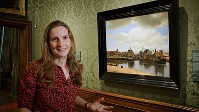 Allein im Museum: Johannes Vermeer – View of Delft