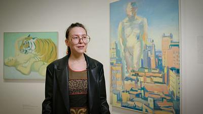Allein im Museum: Maria Lassnig – Woman Power