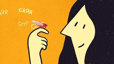 das Tier: die Zikade