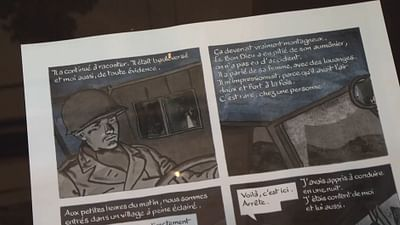 Comic: Zwei Freunde, zwei Kriege