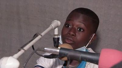 Kinderporträt: Grace aus der Elfenbeinküste