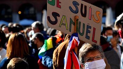 Paris: Solidarität für Lehrer Samuel Paty