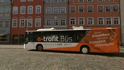 Zweites Leben für alte Diesel-Busse