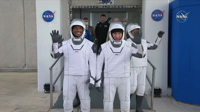 SpaceX-Flug erfolgreich zur ISS gestartet